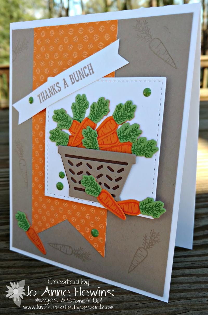 Bassket Bunch carrots in a basket