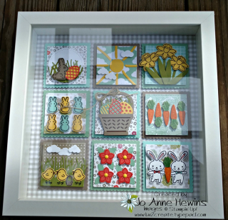 Basket Bunch Easter Frame