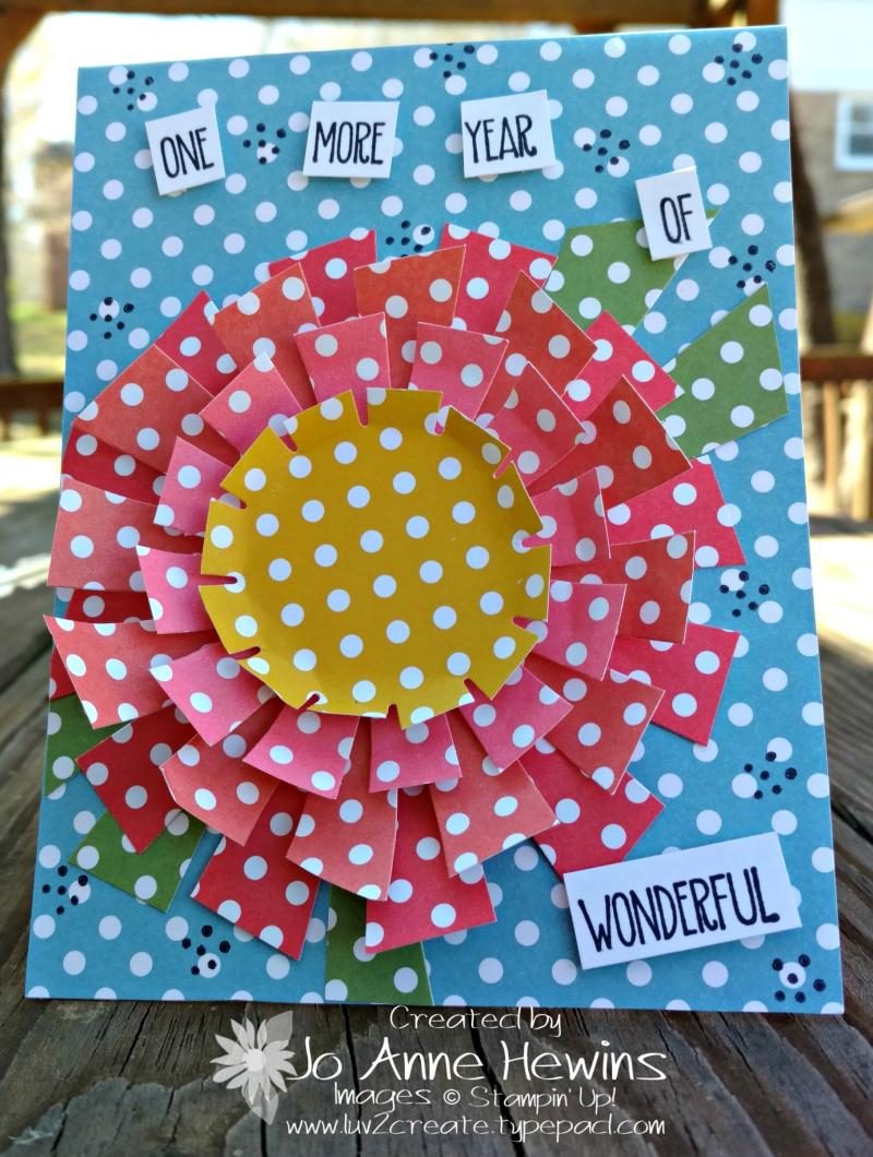 NC Blog Hop with Designer Series Paper Stacks