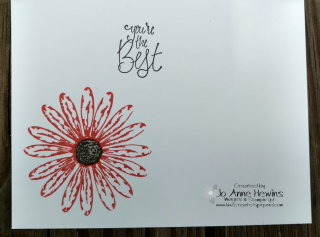Daisy Delight card inside (2)