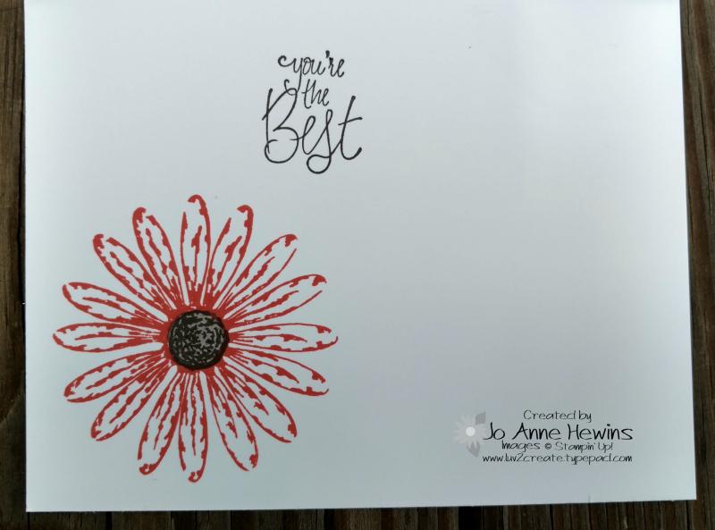 Daisy Delight card inside (2)
