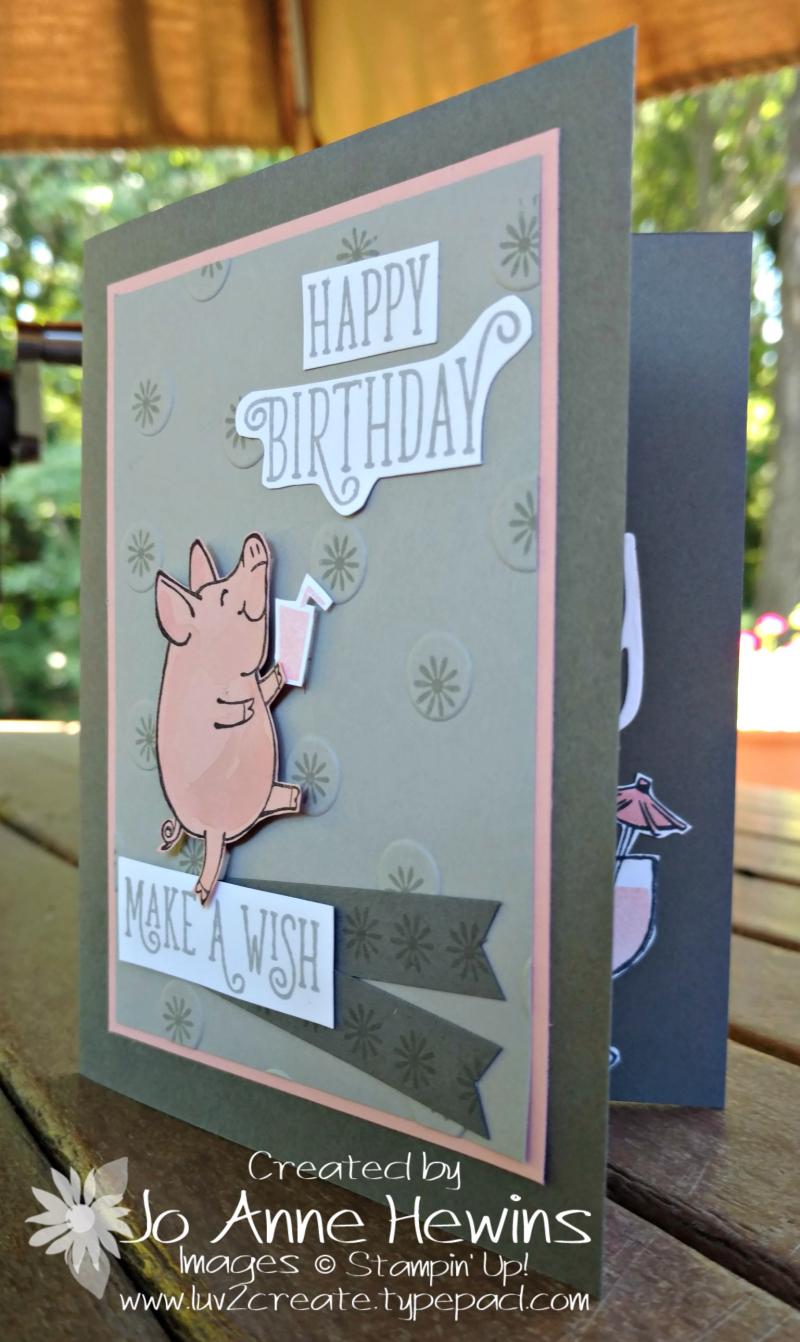 This Little Piggy birthday for Jim