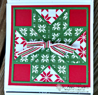Pizza Box  Christmas Quilt