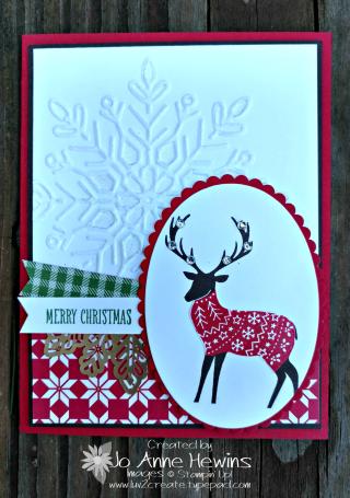 Merry Patterns reindeer