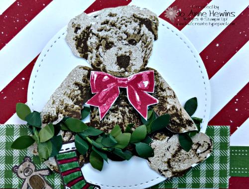 Baby Bear Christmas close up