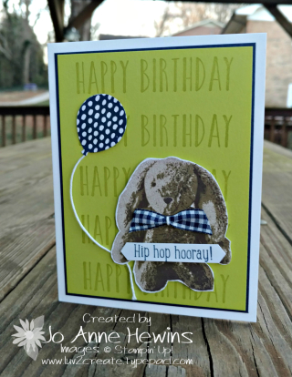 Sweet Little Bunny card