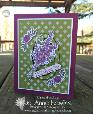 Lots of Lavender card