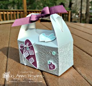 Silver Mini Gable Box