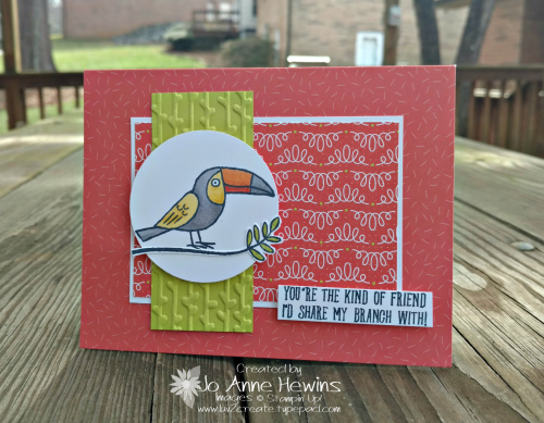 Bird Banter Luv 2 Create February class