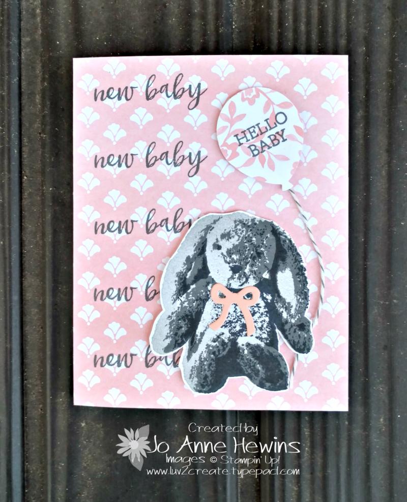 Sweet Little Something gift card by Jo Anne Hewins