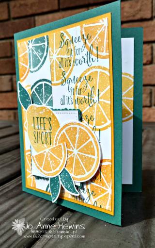 Lemon Zest Swap by Jo Anne Hewins at Luv 2 Create