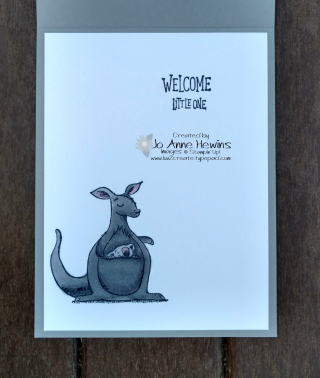Animal Outing inside of card     Jo Anne Hewins