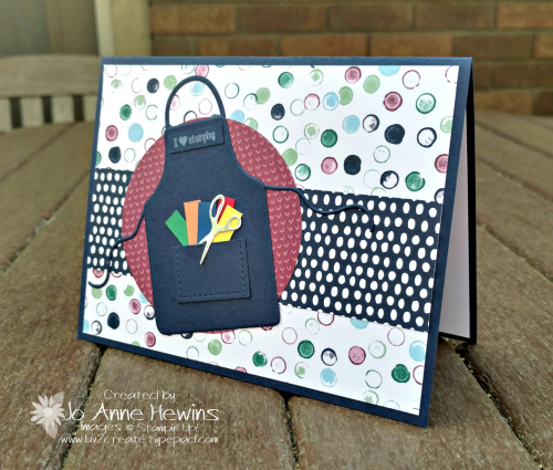Apron of Love card by Jo Anne Hewins