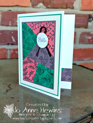 Color Fusers May 2018 card by Jo Anne Hewins