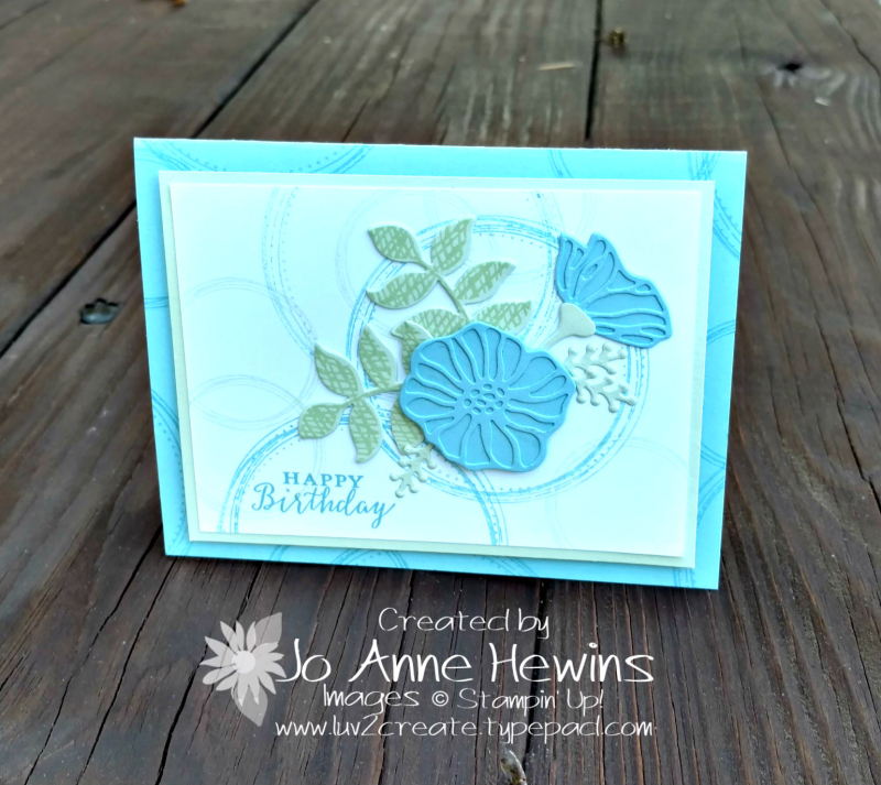 Swirly Frames and Oh  So Eclectic by Jo Anne Hewins
