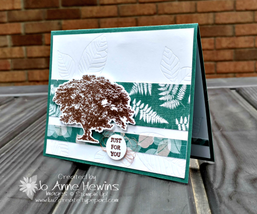 CCMC #512 Rooted in Nature card by Jo Anne Hewins for Luv 2 Create