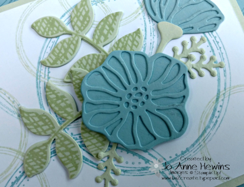Swirly Frames with the Oh  So Eclectic close up by JO Anne Hewins