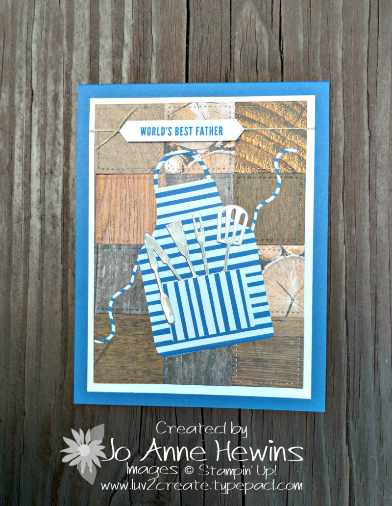 Apron of Love for Father's Day by Jo Anne Hewins