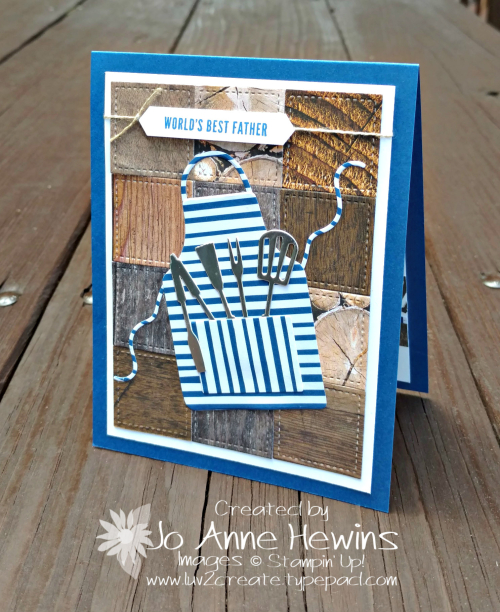 Apron Of Love Card for Father's Day by Jo Anne Hewins