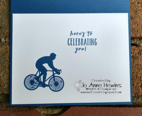 Enjoy Life Birthday card inside by Jo Anne Hewins