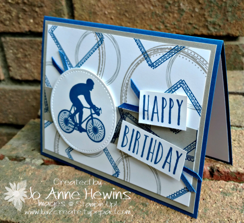 Enjoy Life Birthday Card for DJ by Jo Anne Hewins