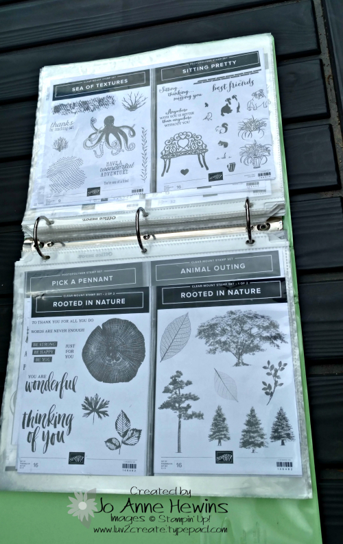 NC Demo Blog Hop for organization notebook pages by Jo Anne Hewins