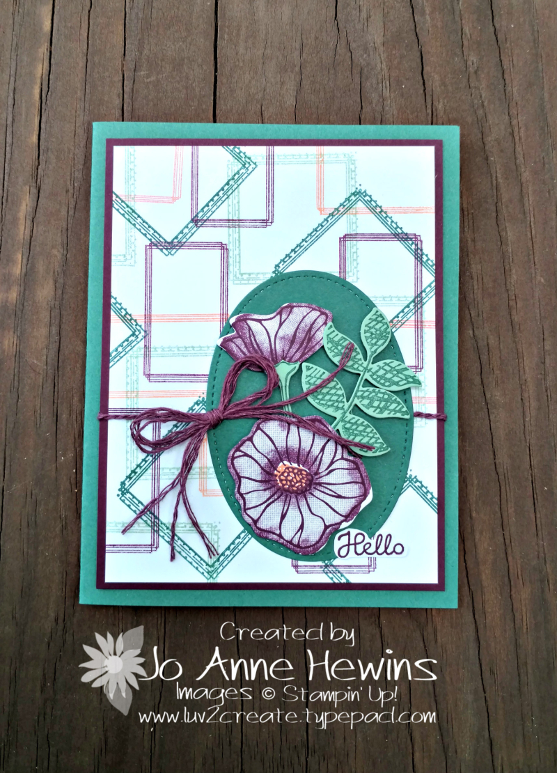 Color Fusers for June 2018 with Swirly Frames by Jo Anne Hewins