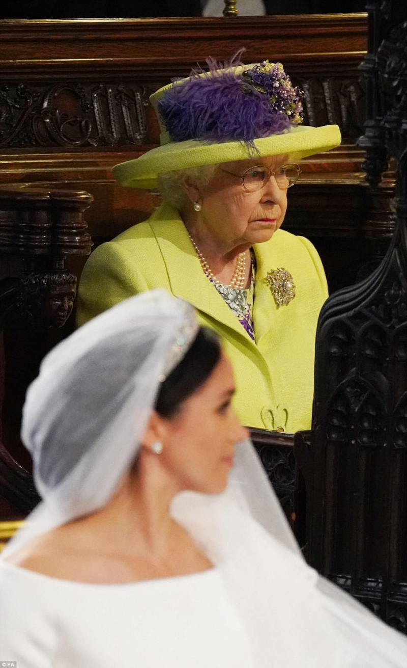 Queen at the wedding