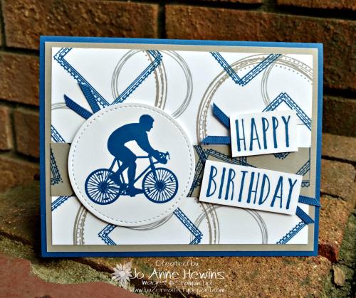 Enjoy Life Birthday Card by Jo Anne Hewins