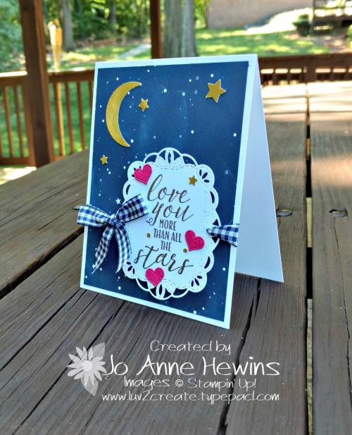 Little Twinkle Love Card by Jo Anne Hewins