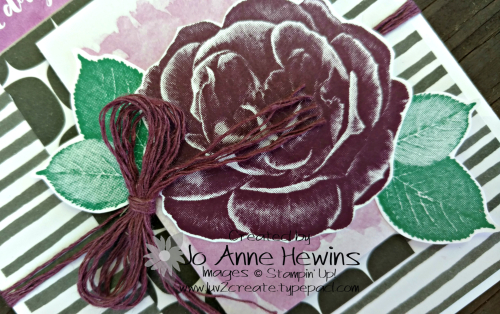 Healing Hugs plus Delightfully Detailed Memories & More close up by Jo Anne Hewins