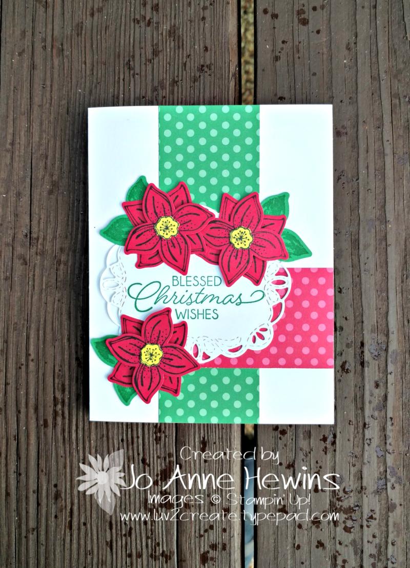 CCMC#520 Pop of Petals Christmas by Jo Anne Hewins