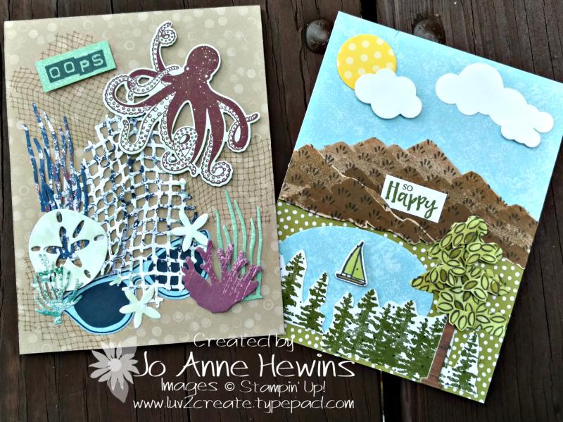 NC Demo Blog Hop Summer Fun by Jo Anne Hewins