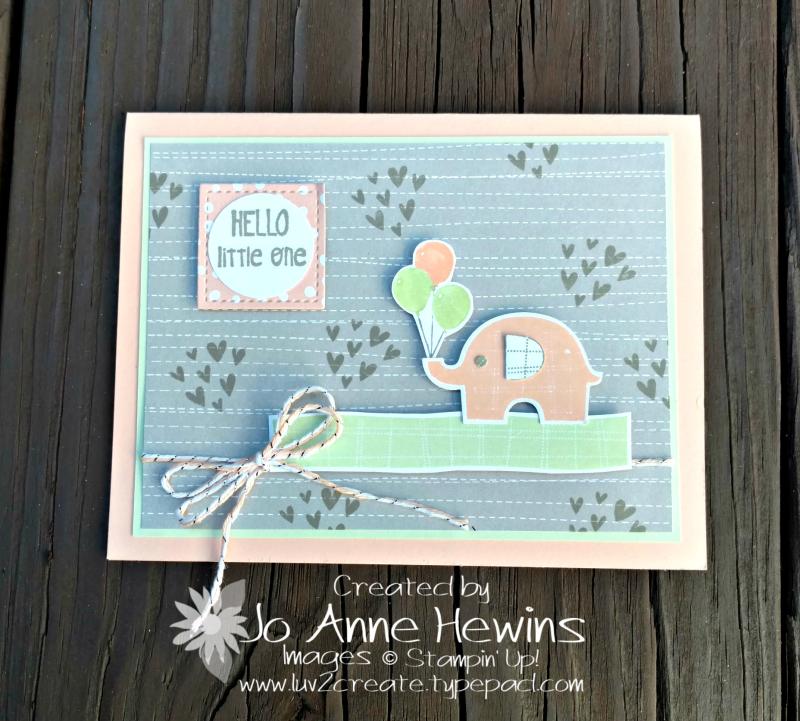 Little Elephant bundle by Jo Anne Hewins
