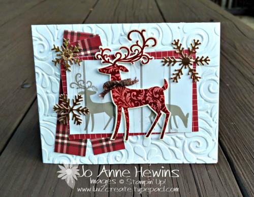 CCMC #526 by Jo Anne Hewins Dashing Deer