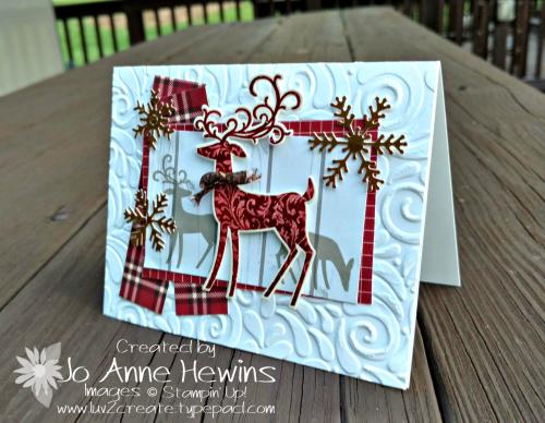 CCMC #526 Dashing Deer Bundle by Jo Anne Hewins