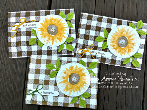 Painted Harvest Note Cards by Jo Anne Hewins