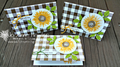Painted Harvest Note Cards & Envelopes by Jo Anne Hewins