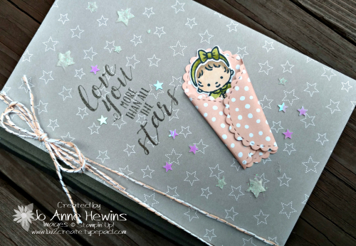 Sweet Baby notebook by Jo Anne Hewins