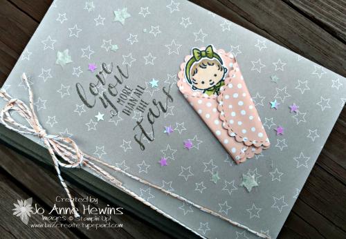 Sweet Baby notebook by Jo Anne Hewins