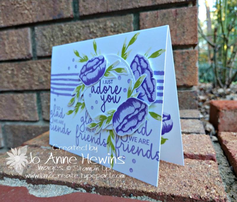 Incredible Like You in purple by Jo Anne Hewins