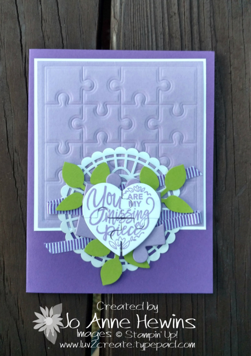 Love You to Pieces catalog CASE by Jo Anne Hewins