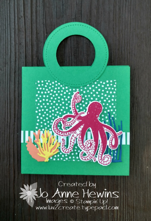 Beach Bag CASE of card by Jo Anne Hewins
