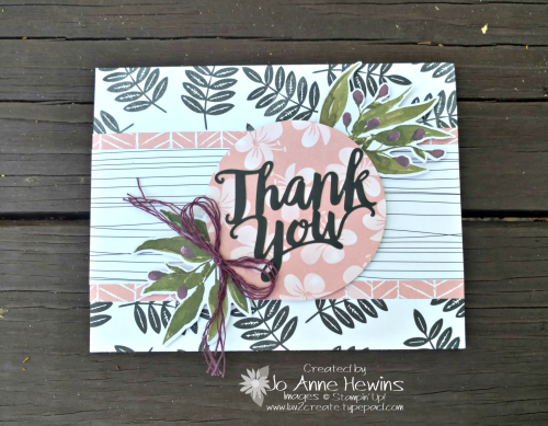 Notes of Kindness Card Kit Alternative #3 by Jo Anne Hewins