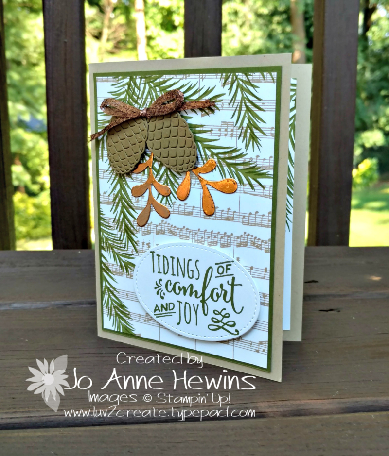 Christmas Pines CASE of the Annual Catalog by Jo Anne Hewins
