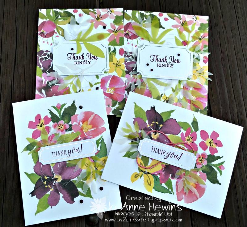August Paper Pumpkin cards by Jo Anne Hewins