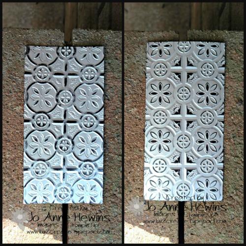 Country Home Tin Tile combo