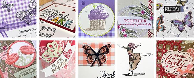 January Stampin Around the World banner