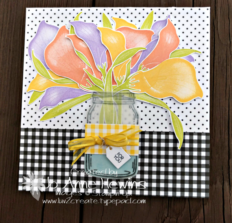 NC Demo January Blog Hop Lasting Lily by Jo Anne Hewins