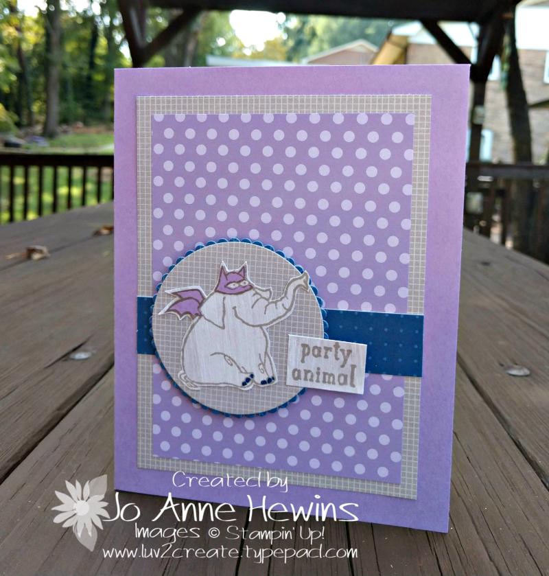 CCMC #529 Trick or Tweet card by Jo Anne Hewins